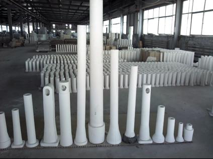 Flow Control Alumina Graphite Series Dec Material